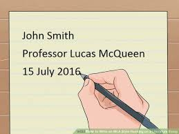 How to Write in MLA Style Heading on a Literature Essay  with     How to Write in MLA Style Heading on a Literature Essay  with   Millicent Rogers Museum