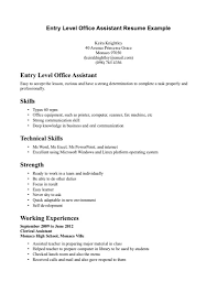 Medical Office Assistant Resume Examples by Office Assistant Resume Skills Free Resume Example And Writing