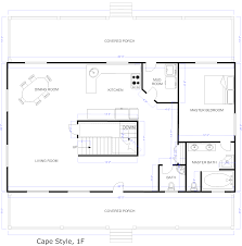 100 cape style home plans ranch house floor plans with front