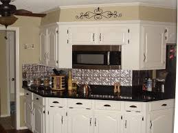 Using Tin Backsplash For Kitchen Interior Decoration  Decor Trends - White tin backsplash