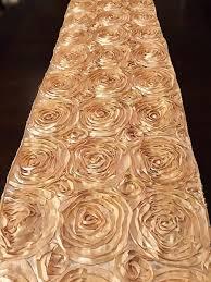 satin rosette table runner home decor wedding decor various