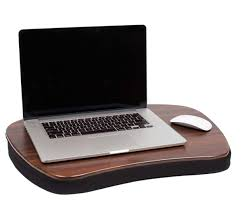 sofia sam oversized memory foam lap desk black