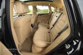Porsche Cayenne Inside - 2015 porsche cayenne facelift rear seat at the 2014 guangzhou auto