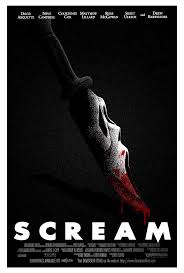 scream poster remade by samraw08 design product pinterest
