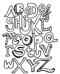 alphabet coloring page 7754 bestofcoloring com