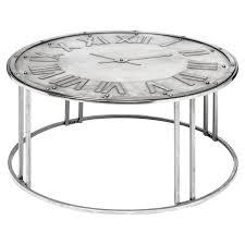 coffee table unique clock coffee table ideas round clock coffee