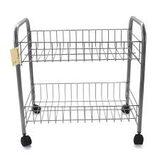 Kitchen Carts On Wheels by Kitchen Carts Rolling Storage Carts For Kitchen White Elfa