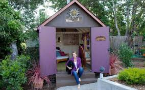 Smith Built Shed by She Sheds Offer An Extra Room Of Her Own The Sacramento Bee