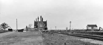 Blyton railway station