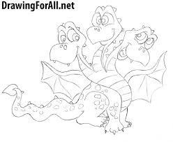 draw dragon kids drawingforall net