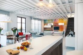 Loft Designs by Dashingly Colorful Loft Design