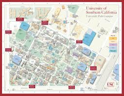 Uga Campus Map University Of Southern California Campus Map Jpg