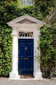 Transom Window Above Door 21 Cool Blue Front Doors For Residential Homes
