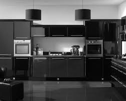 modern black kitchen cabinet ideas orangearts tiles backsplash and