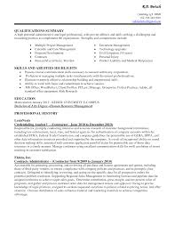 Professional Profile On Resume Skills To List On Resume For Administrative Assistant Resume For