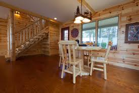 get that rustic look and feel with knotty pine beadboard paneling