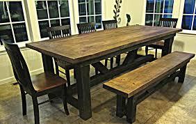 wood dining room table wood dining table design barn wood