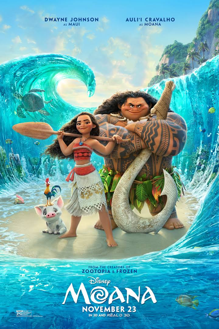 The Moana Film Non-Spoiler Review!