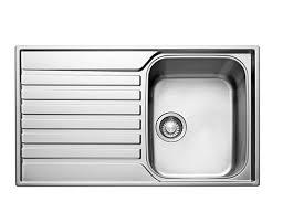 Kitchen Sinks Metal  Ceramic Kitchen Sinks DIY At BQ - Shallow kitchen sinks