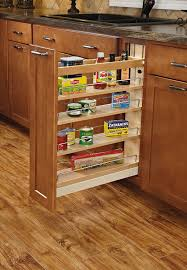 Kitchen Cabinets With Pull Out Shelves by Amazon Com Rev A Shelf 448 Bcsc 5c 5 In Pull Out Wood Base