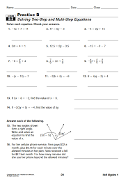 Holt Mcdougal Explorations In Core Math Algebra   Answers   holt