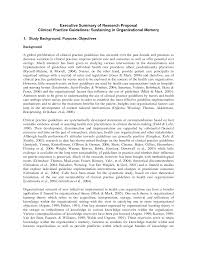 Executive Summary Resume Example Template Writing An Executive Summary For A Report