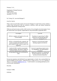 Cover Letter For Possible Job Opening   Cover Letter Templates