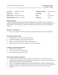 Resume Format For Teachers Job by Writing A Teacher Resume