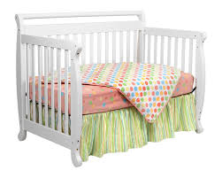 White Convertable Crib by Davinci Emily 4 In 1 Convertible Baby Crib In White W Toddler