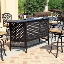 patio interesting metal patio table metal patio table wrought