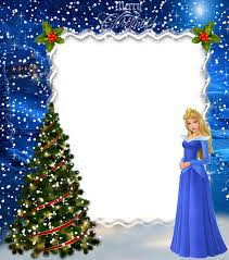 christmas kids princess aurora photo frame pics for cards