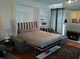 Small L Shaped Sofa Bed by Great Wall Bed Couch Design Combination Using Gas Mechanism And