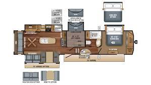Fifth Wheel Bunkhouse Floor Plans Eagle Rvs Michigan Eagle Dealer Rv Sales