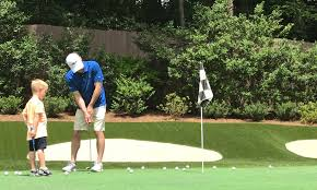 Backyard Golf Hole by How Kevin Harvick Uses His Backyard Replica Of An Augusta National