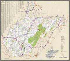 Ohio Kentucky Map by Large Detailed Tourist Map Of West Virginia