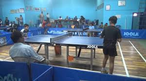 Table Tennis Tournament by Telangana State Ranking Table Tennis Tournament 2014 Khammam Youtube