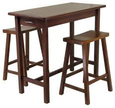 Bistro Table For Kitchen by Kitchen Island Table Set Of 3 Transitional Indoor Pub And