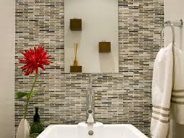 choosing a bathroom backsplash hgtv