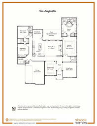 augusta floor plan single level living niblock homes