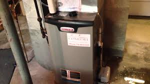 lennox el296 two stage gas furnace hvac install clarence ny youtube