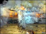 Homem confessa ter incendiado portal histórico em Seul