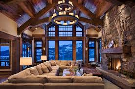 Cabin Design Ideas 30 Rustic Living Room Ideas For A Cozy Organic Home