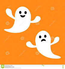 sad cartoon ghost stock vector image 53353013