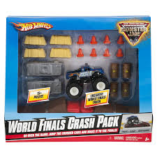 monster truck show discount code amazon com wheels monster jam world finals crash pack toys