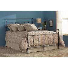 Palliser Alula Winslow Iron Bed In Mahogany Gold Humble Abode