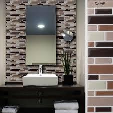 creative peel and stick wall tiles ceramic wood tile