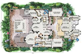 awesome spanish style house plans with interior courtyard ideas