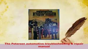 download the petersen automotive troubleshooting repair manual