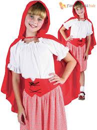 girls little red riding hood costume world book day week kids