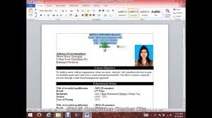 How To Do An Resume How To Do A Resume On Microsoft Word Resume For Your Job Application